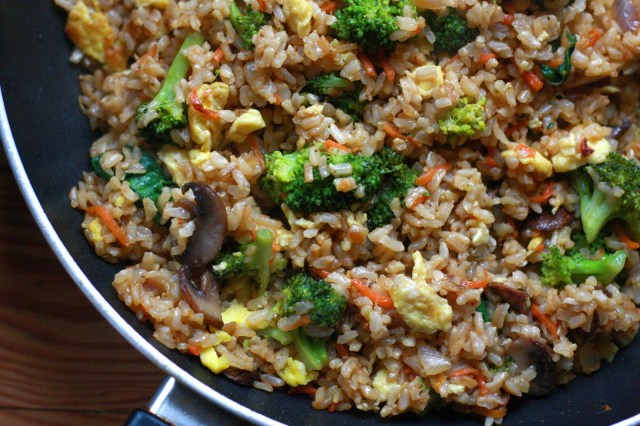 Vegetable Fried Rice - Supper With Michelle