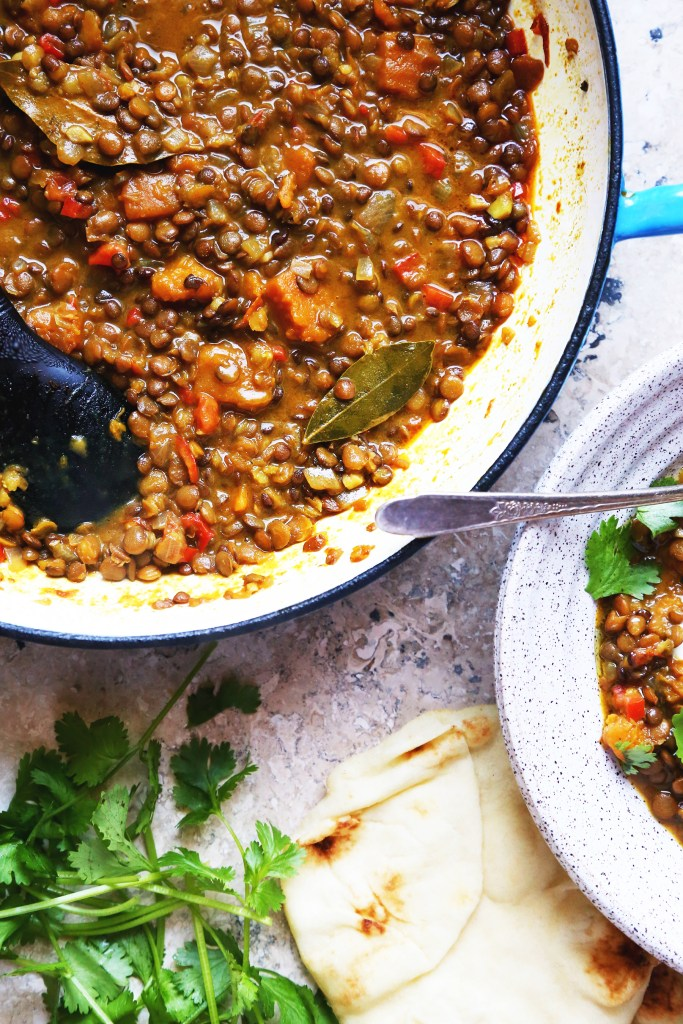 Butternut Squash and Lentil Stew - Supper With Michelle