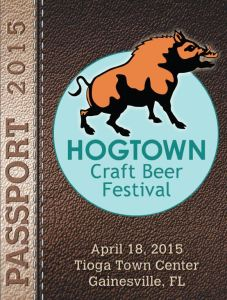 Hogtown Craft Beer Festival Passbook