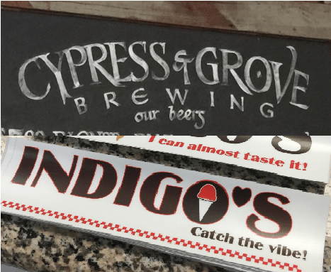 Cypress & Grove Brewing and Indigo's Homemade Ice Cream – New FLavors in Town!!!