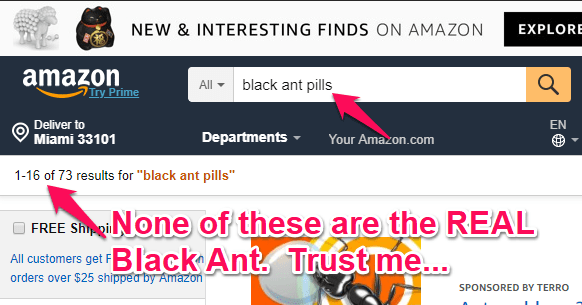 Wholesale 10 Capsule Natural African Black Ant King Pills Testosterone For Men From China Suppliers