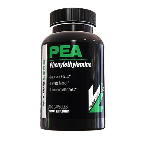 Live Long Nutrition Phenylethylamine. 100 Capsules