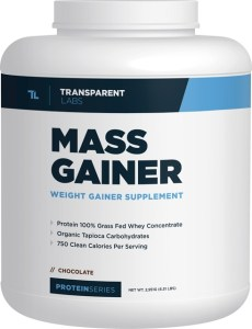 transparent labs protein series mass gainer