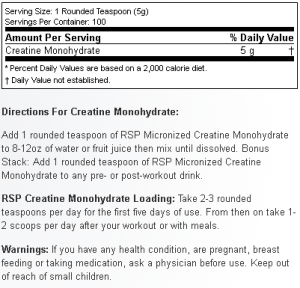 RSP Nutrition Creatine Monohydrate_nl