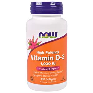 Now Foods, Vitamin D-3