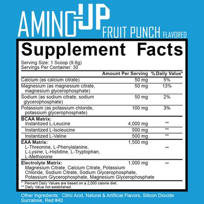Ignite Nutrition Amino-UP facts
