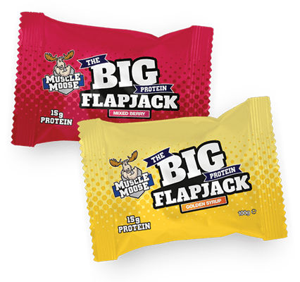 Muscle Moose Big Protein Flapjack