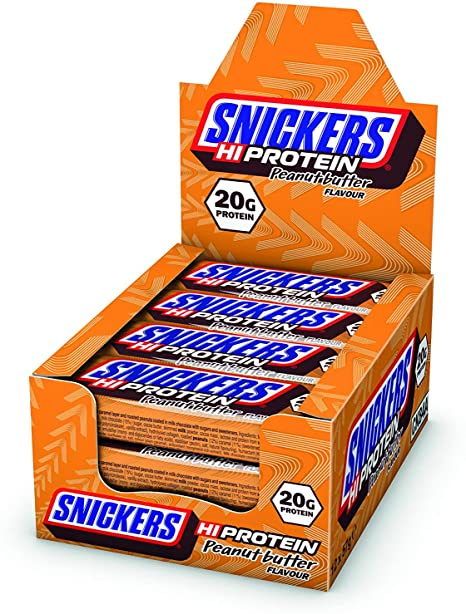 Snickers Hi-Protein Peanut Butter bar