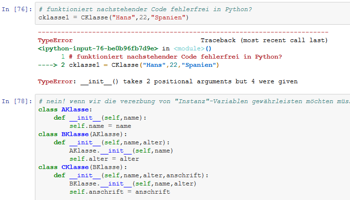 Python Grundlagen