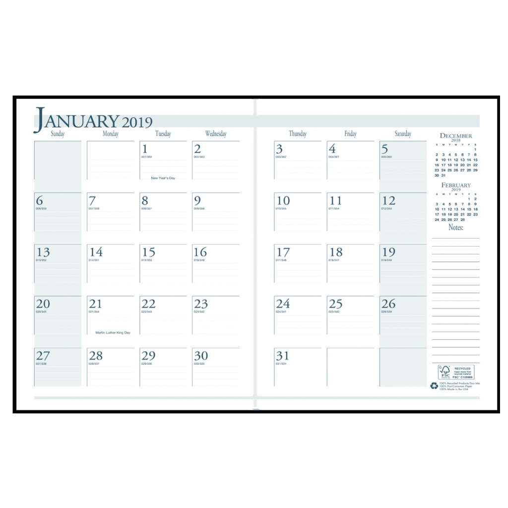 House of Doolittle 260602 Recycled Ruled 14-Month Planner