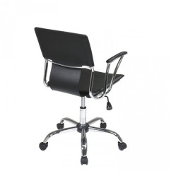 Dorado Office Chair Living Room Lounge Chairs Star Dor26 Bk Work Smart Ave Six Black Ea Zoom