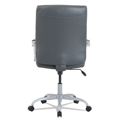 alera office chairs ruched chair covers for sale ka24149 high back leather gray seat supports up zoom