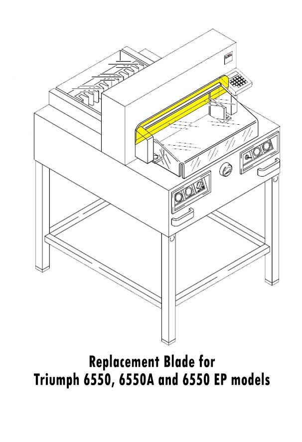 Triumph 0656 Paper Cutter Replacement Blade