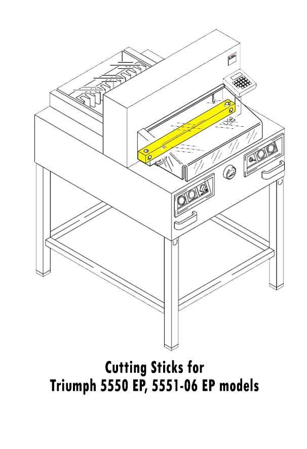 Triumph 0678 Paper Cutter Sticks
