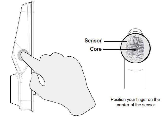 Lockly Smart Home Lock Fingerprint Scanning