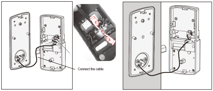 Lockly Smart Lock Interior 1