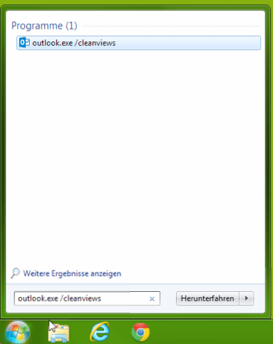 outlook 2013 cleanviews