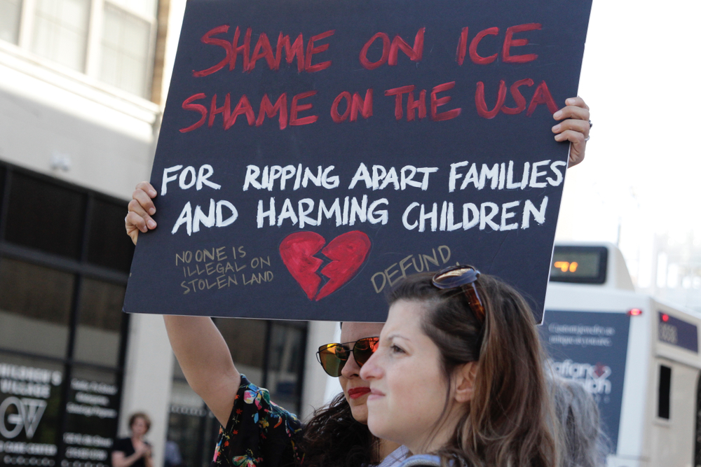 Teach-In for Freedom to Protest Immigrant Child Detention