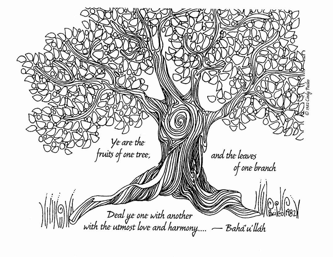 Fruits of One Tree Horizontal