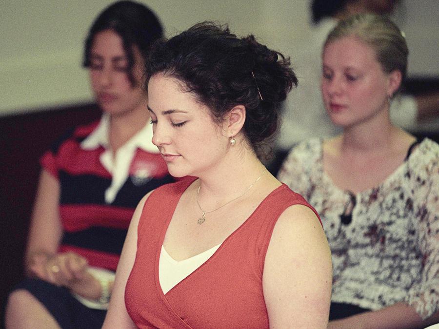 Devotional meeting in Australia