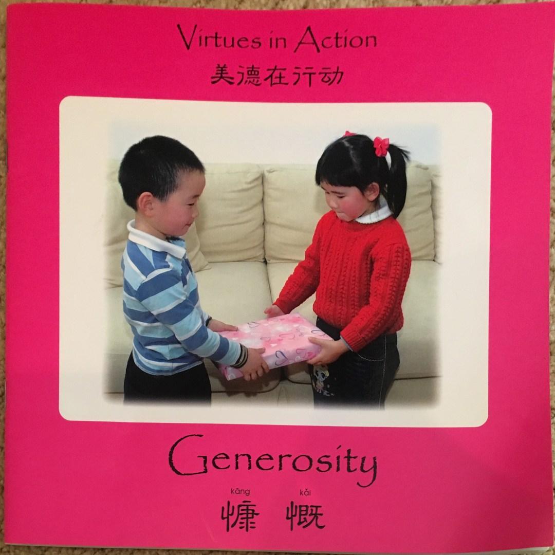 Virtues In Action - Generosity