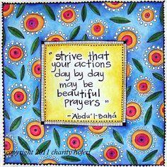 1.1 The Nature of Prayer