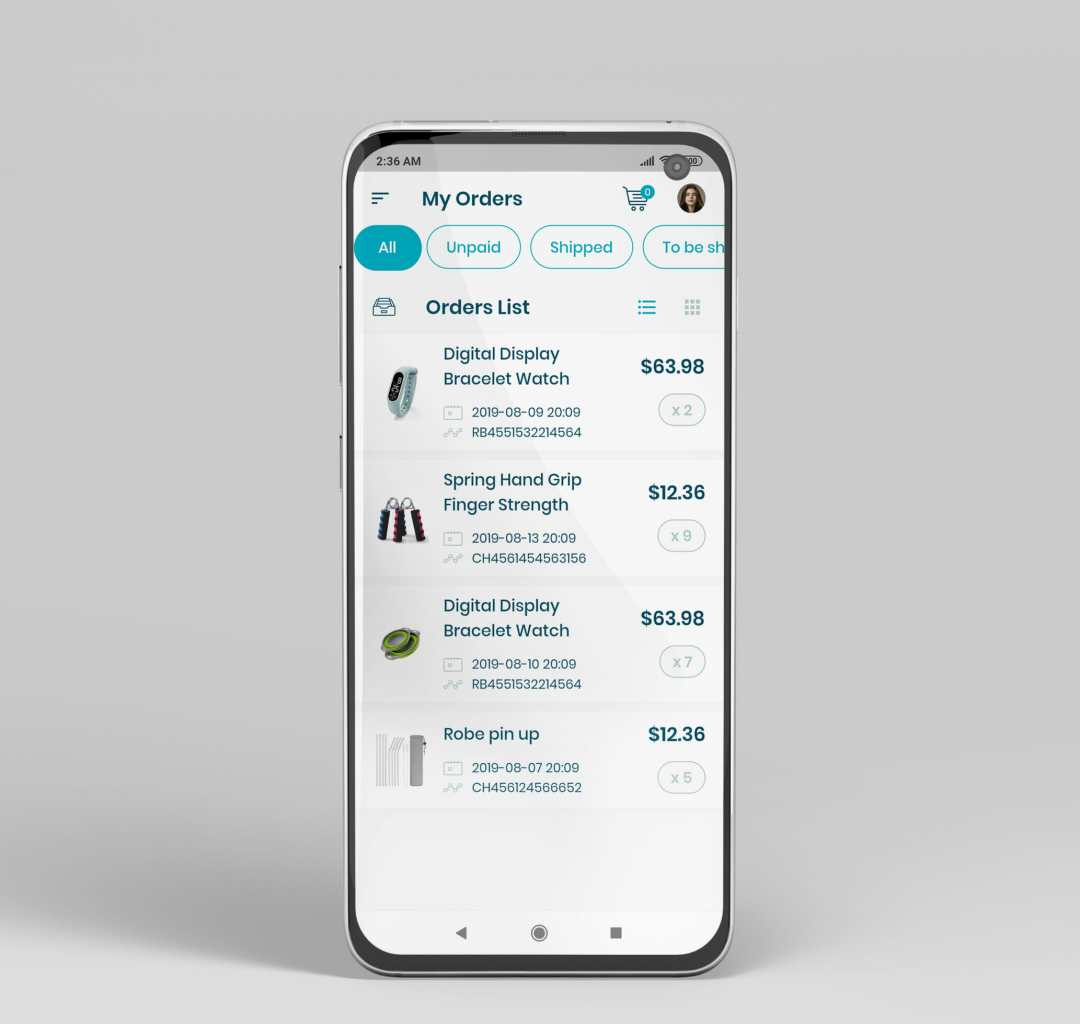 e commerce flutter app ui kit11