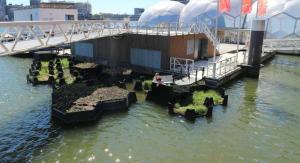 A Rotterdam c'è un parco galleggiante creato interamente con i rifiuti @ Web Radio Supporto Marketing