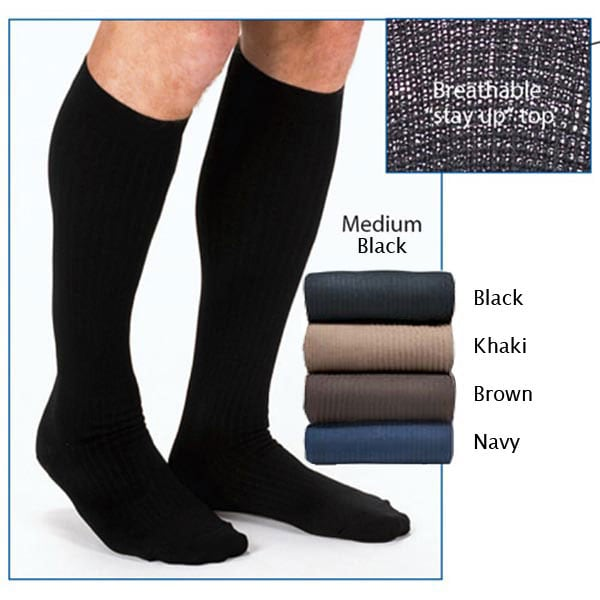 Non Elastic Mens Dress Socks