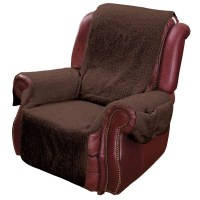 Recliner Chair Cover Protector with Pockets for Remotes ...