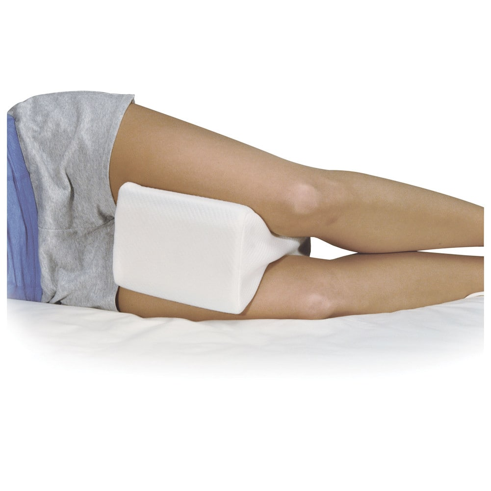 Contoured Memory Foam Leg Knee Hip Spacer Pillow Side