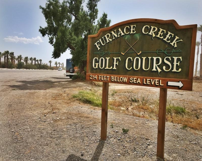 Furnace Creek At DVNP