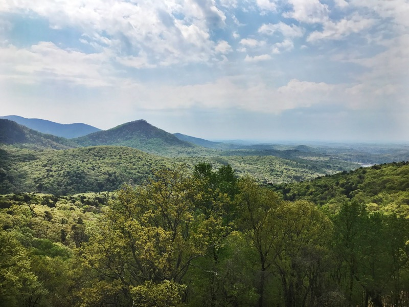 Scenic Overlook Of Southern Appalachians