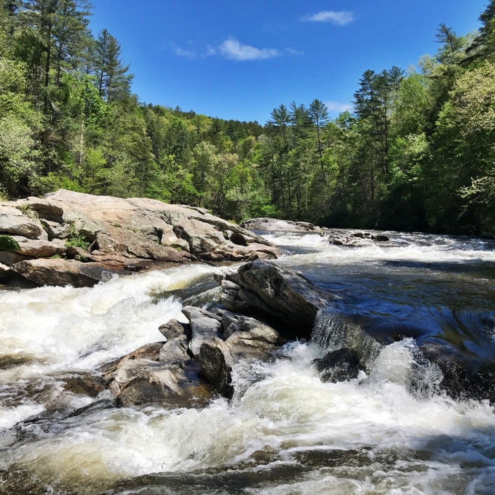 Bull Sluice On The Chattooga River