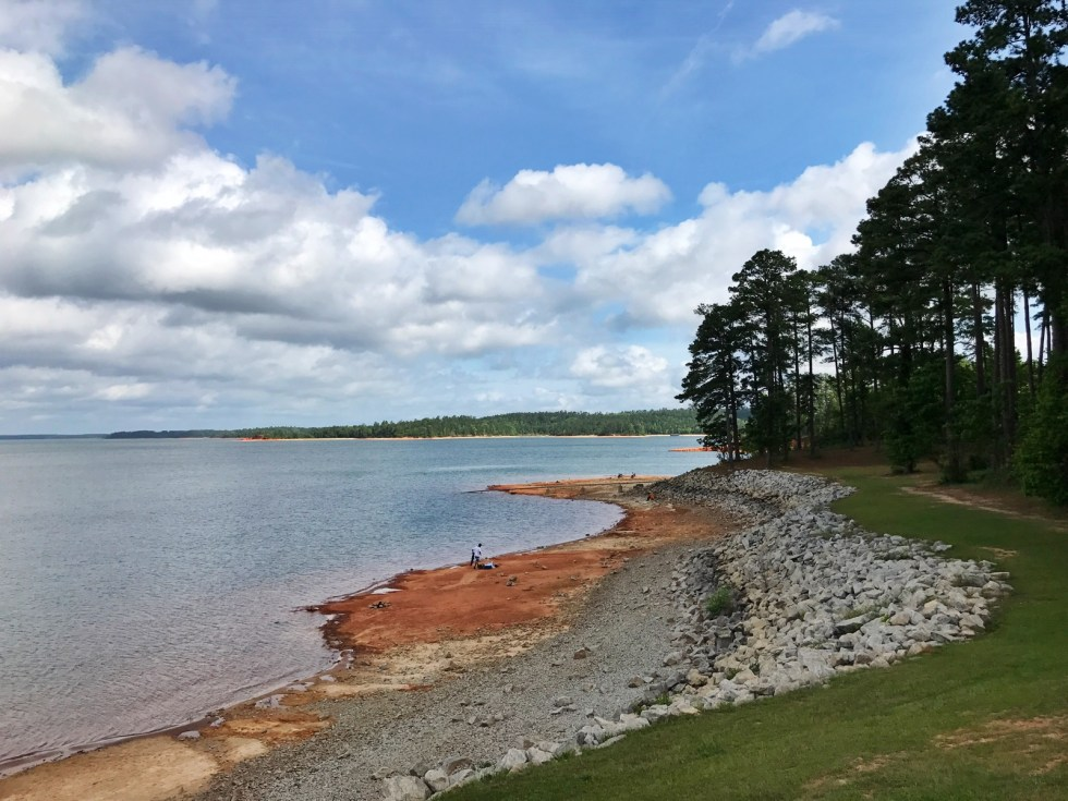 View From The Visitor Center At J. Strom Thurmond Dam