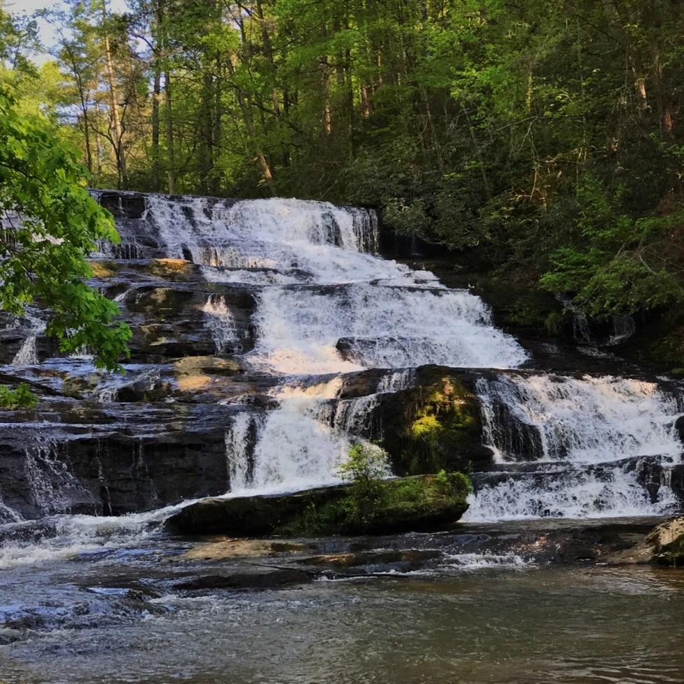 Lower Brassstown Falls