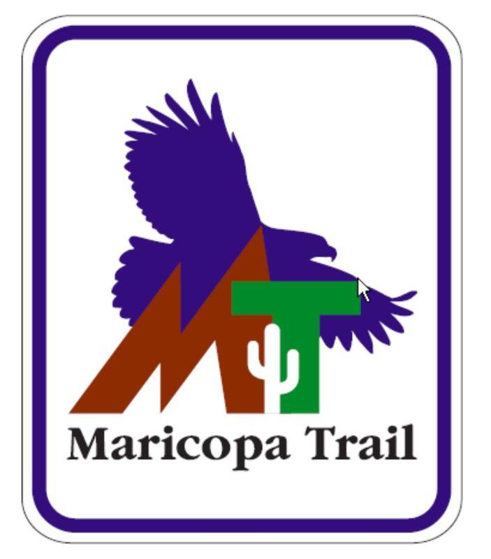 Maricopa Trail sign