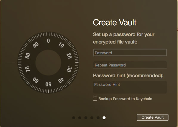 how to put password protection on a mac folder
