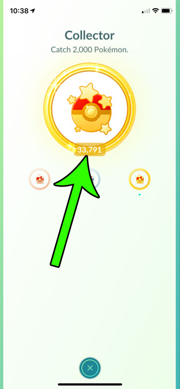 how to see how many Pokemon you have caught in Pokemon Go