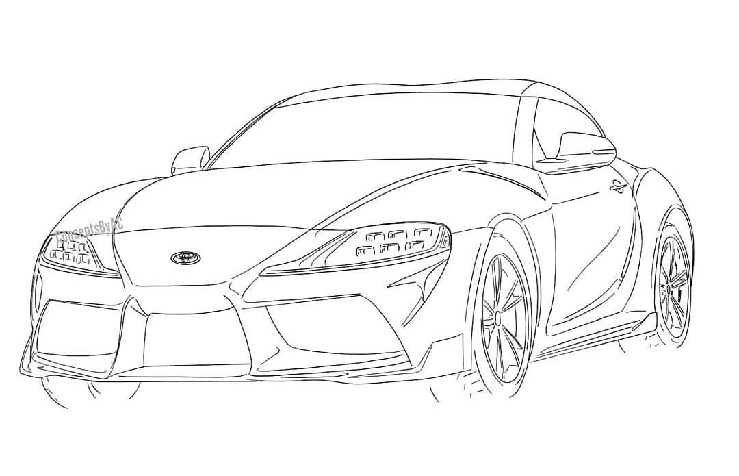 MKV Toyota Supra Photoshops & Renders based on FT-1