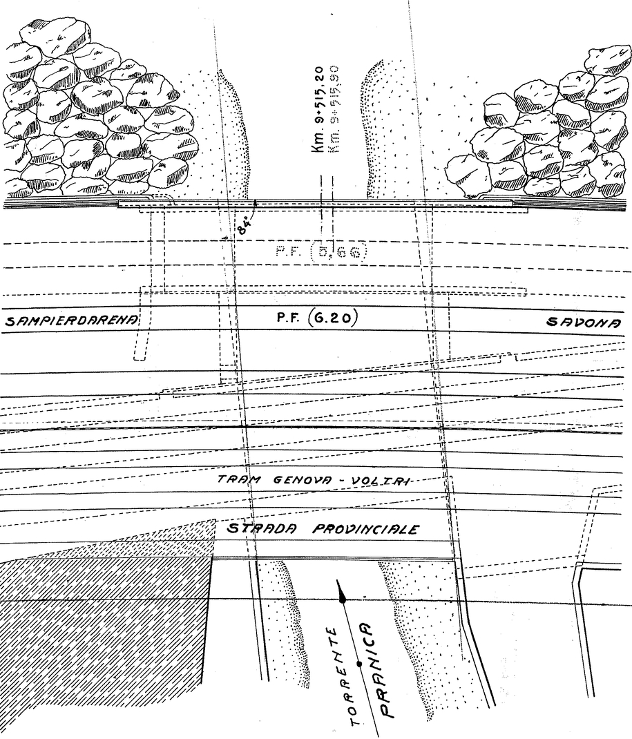 F Pra' ponte ferroviario sul Pranica
