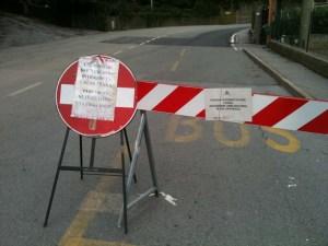Strada Chiusa in Via martiri del Turchino