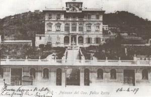 Villa Ratto ieri