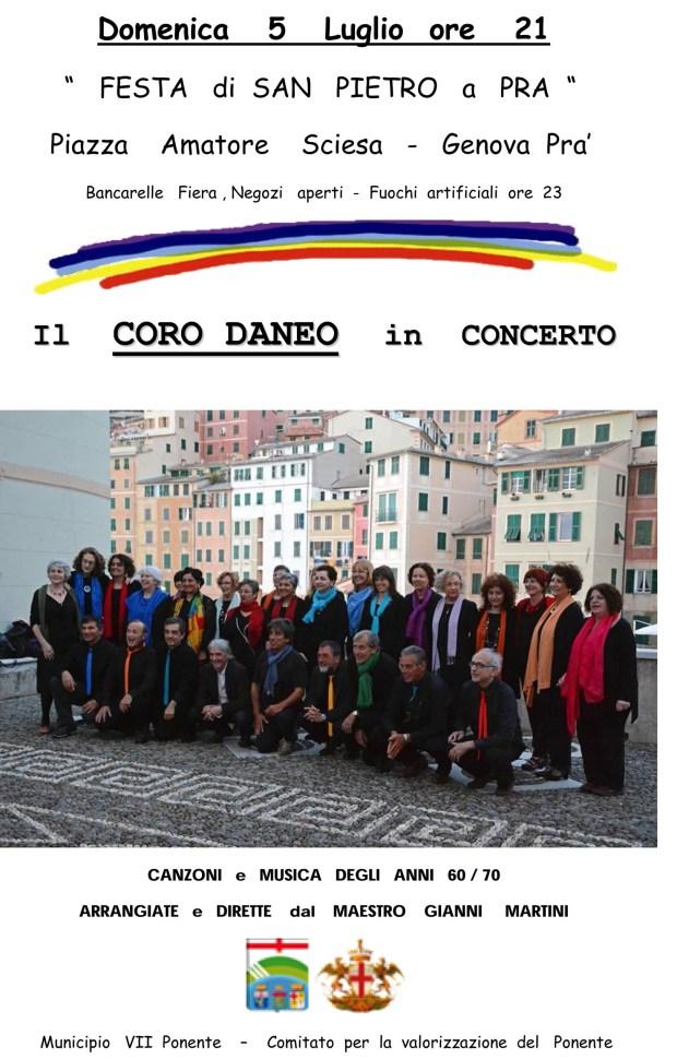 coro locandina Prà 5-7-15