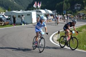 Un ciclista Praino in azione