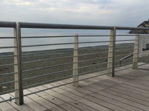 Ringhiere passeggiata a mare di Voltri