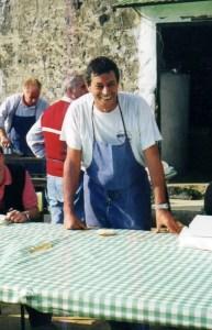 Giacomo Pirolin ai Piani di Pra' 2000