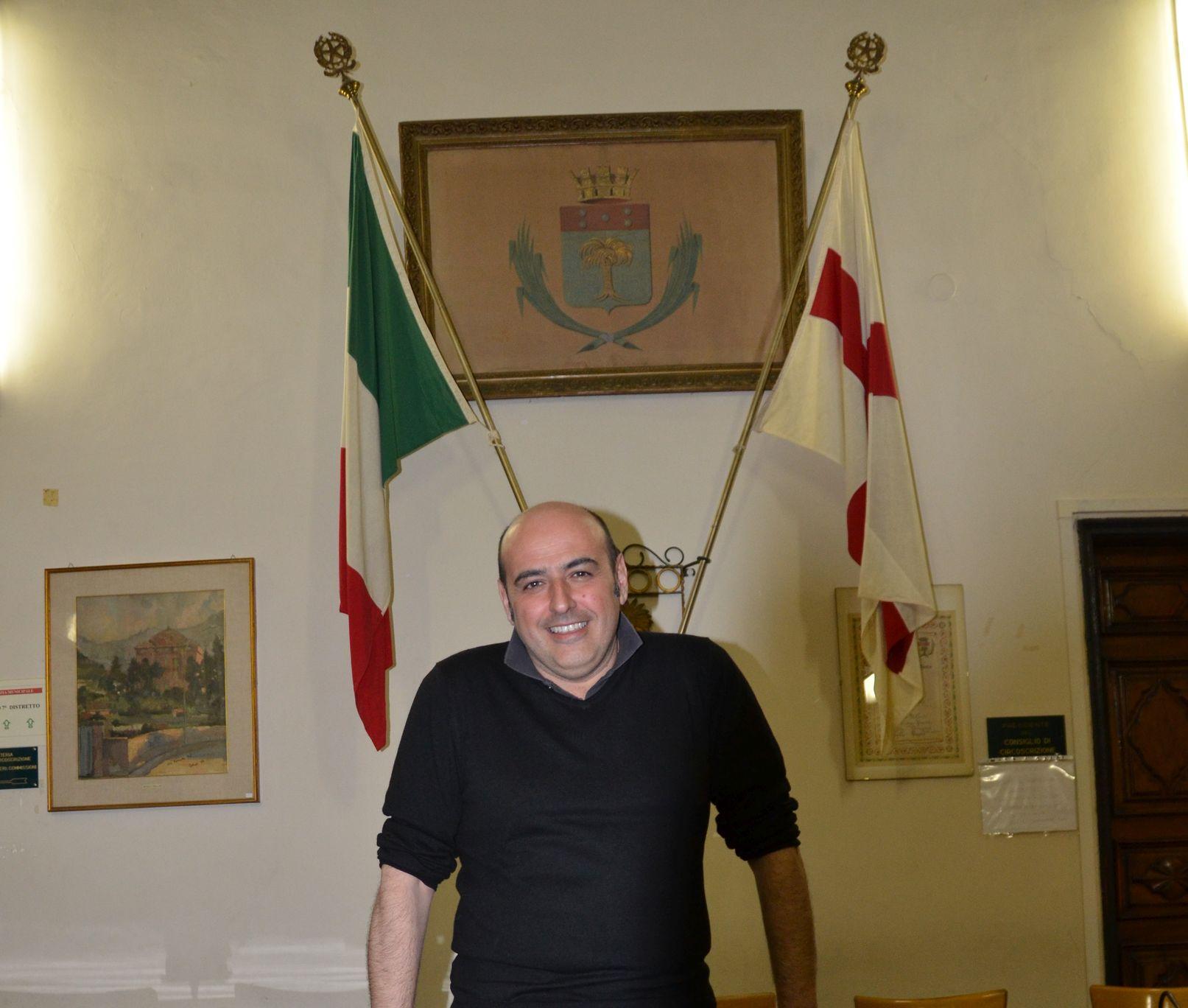 Claudio Chiiarotti in Municipio a Pra' a