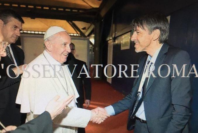 2 Gianfranco Giolfo e Papa Francesco