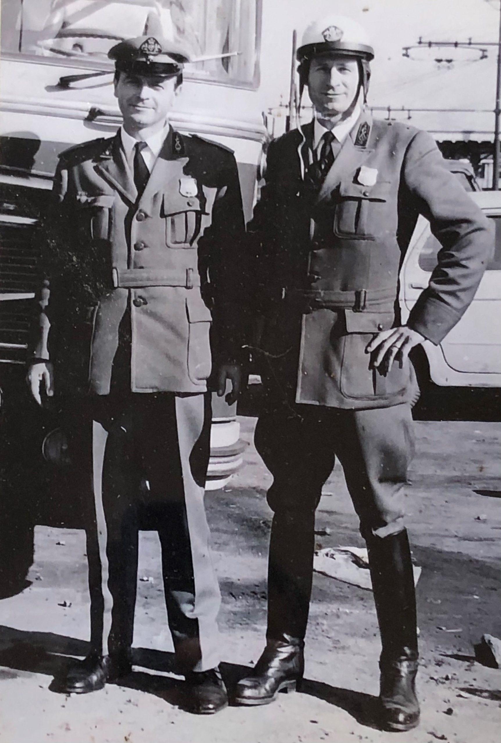 Enrico (ds) e Giorgio (sn) Barbazza